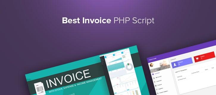 Invoice PHP Script