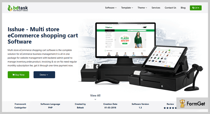 Isshue Shopping Cart PHP Script