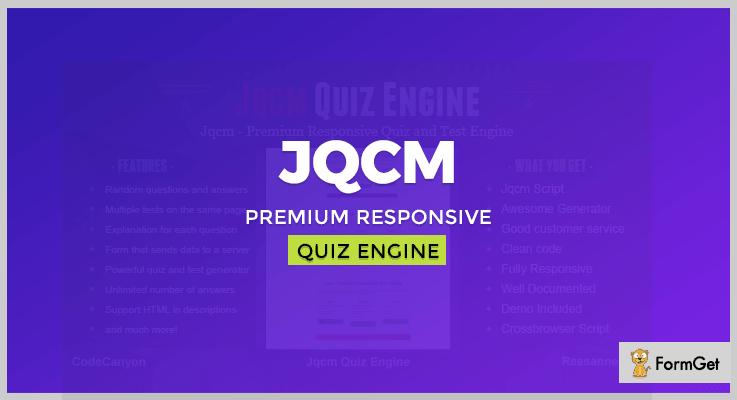 Jqcm Premium Quiz PHP Script