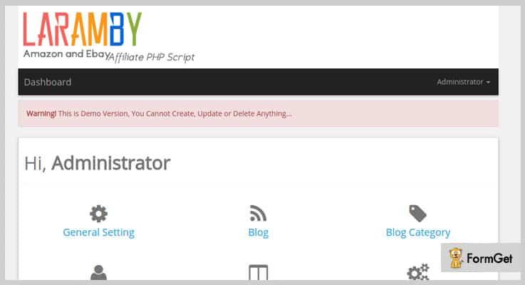 LaramBy Affiliate PHP Script