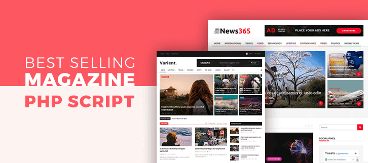 Magazine PHP Script