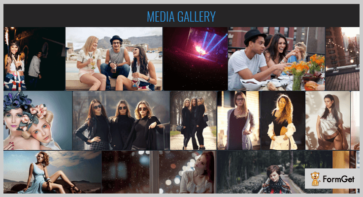 Media Gallery Video Gallery PHP Script