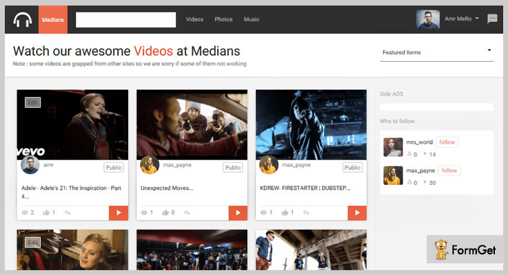 Medians Multimedia Marketplace PHP Script