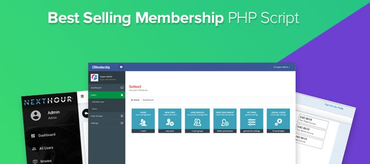 5 Best Selling Membership PHP Script 2018
