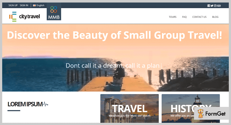 MMB Tour Operator Travel Agency PHP Script