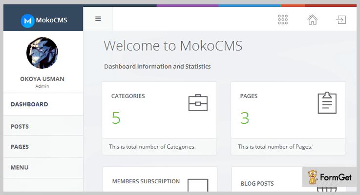 MokoCMS News PHP Script