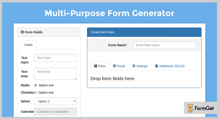Multi-Purpose Form Generator Contact Form PHP Script