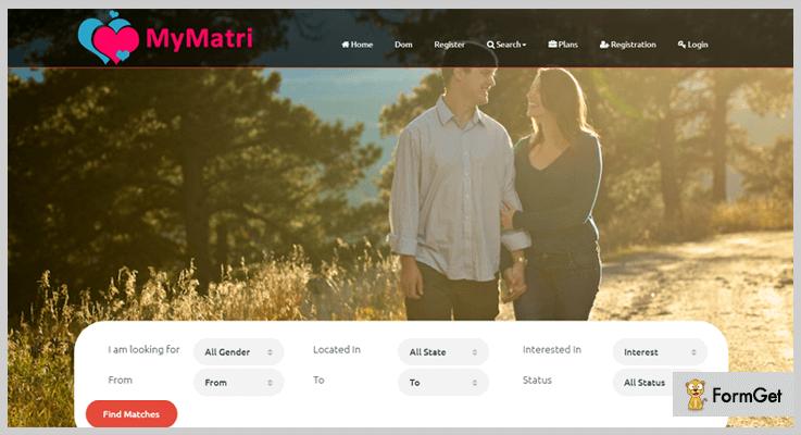 MyMatri Matrimonial PHP Script