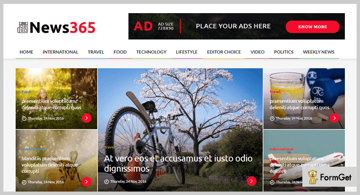 News365 Magazine PHP Script