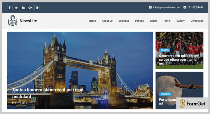 Newslite News PHP Script