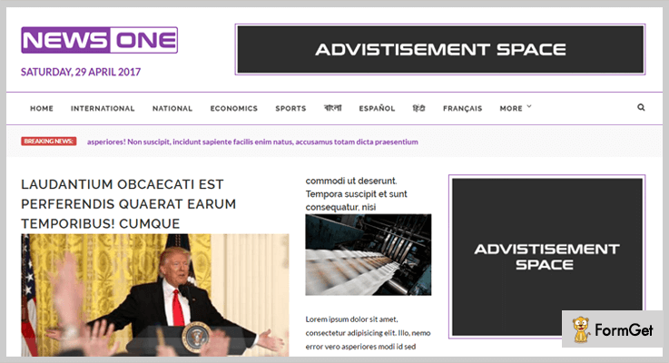 NewsOne Magazine PHP Script