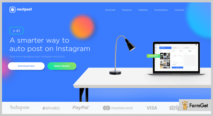 Instagram Auto Post & Scheduler Instagram PHP Script