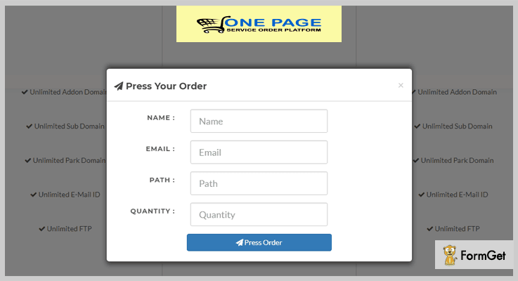 Onepage Order Cart System Shopping Cart PHP Script