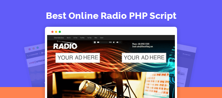 Online Radio PHP Script