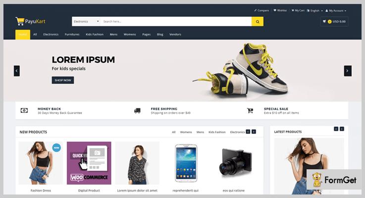PayuKart Shopping Cart PHP Script