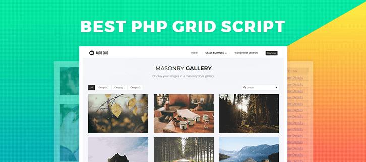5 Best Readymade PHP Grid Script 2019 | FormGet