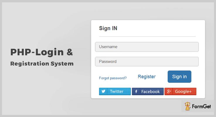 Secure PHP Login & Registration Script
