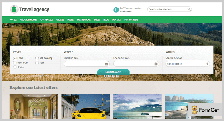 PHP Travel Agency Booking System Travel Agency PHP Script