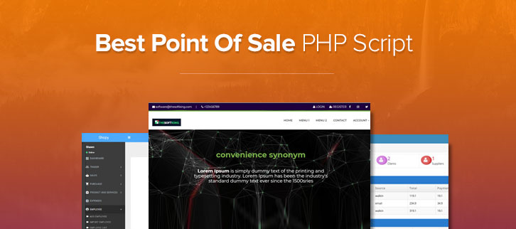 Point Of Sale PHP Script