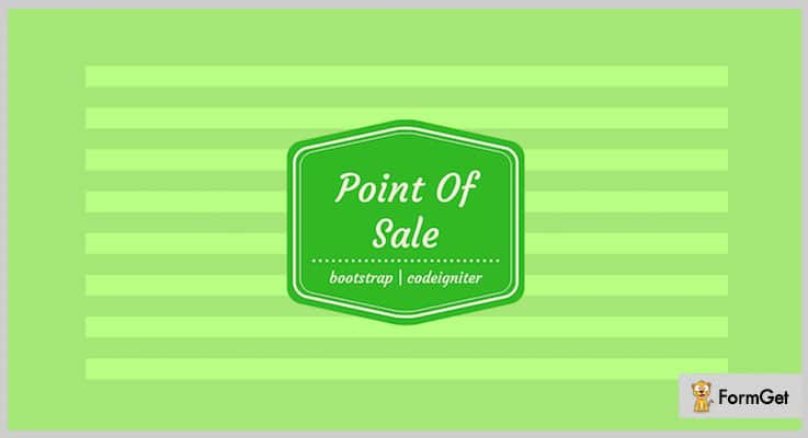 POS Point Of Sale PHP Script