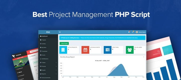 5+ Best Project Management PHP Script 2018