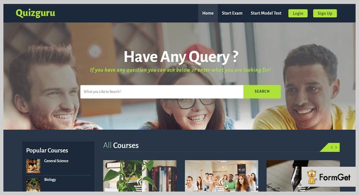 Quizguru Quiz PHP Script