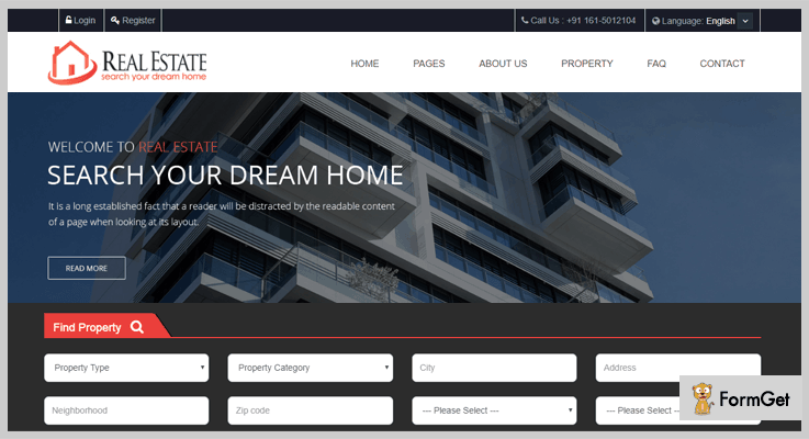 Real Estate Custom Script Real Estate PHP Script