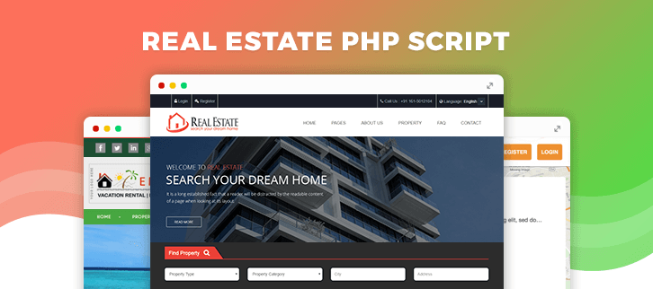 Real Estate PHP Script