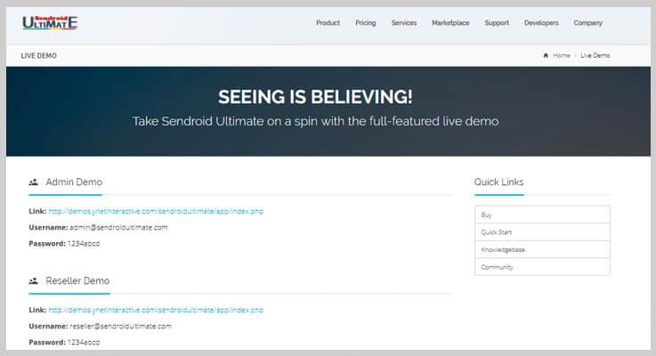 Sendroid Ultimate SMS PHP Script
