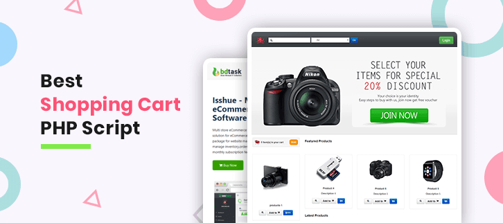 Shopping Cart PHP Script