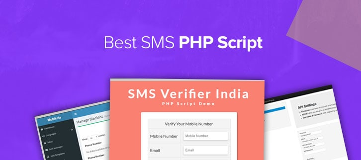 SMS PHP Script