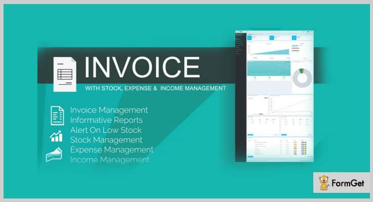 Stock Invoice PHP Script