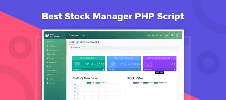 5 Best Stock Manager PHP Script 2018