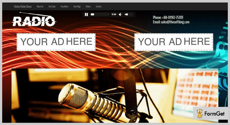 Stremo Online Radio PHP Script