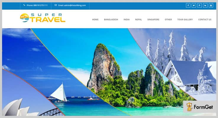 Travo Travel Agency & Tourism Management Booking PHP Script