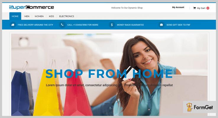 SuperCom Online Ecommerce PHP Script