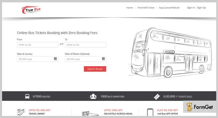 Online Bus Ticket Booking PHP Script