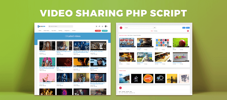 5+ Best Video Sharing PHP Script 2018