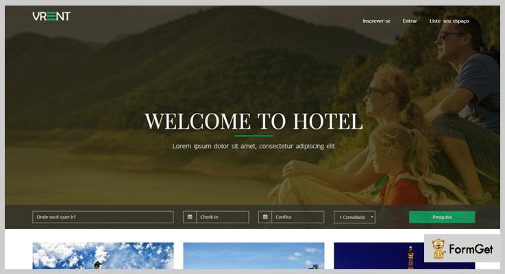 vRent PHP Vacation Rental Script
