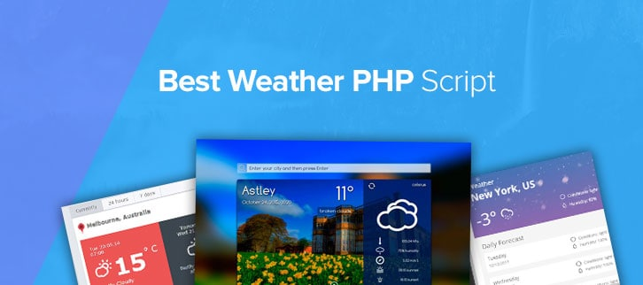 Weather PHP Script