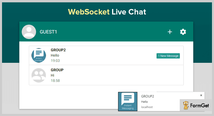 WebSocket Live Chat Live Chat PHP Script