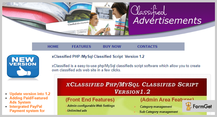 xClassified Classifieds PHP Script