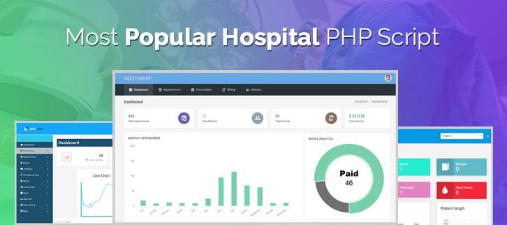 Hospital PHP Script