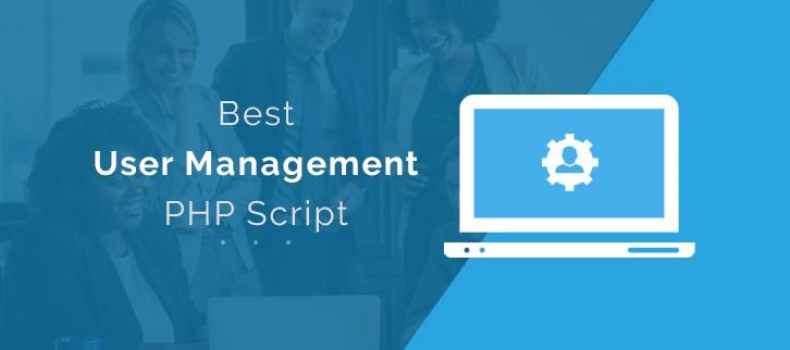 Best User Management PHP Script