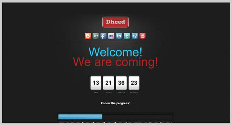 Extended Coming Soon Countdown PHP Script