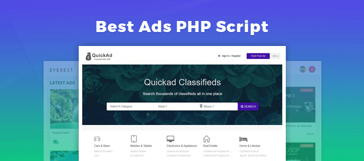 Ads PHP Script