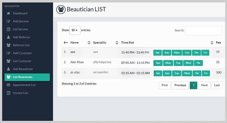 Beuto Salon Managment PHP Sript