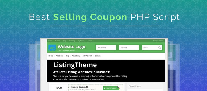 Coupon PHP Script