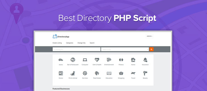 5+ Best Directory PHP Script 2018