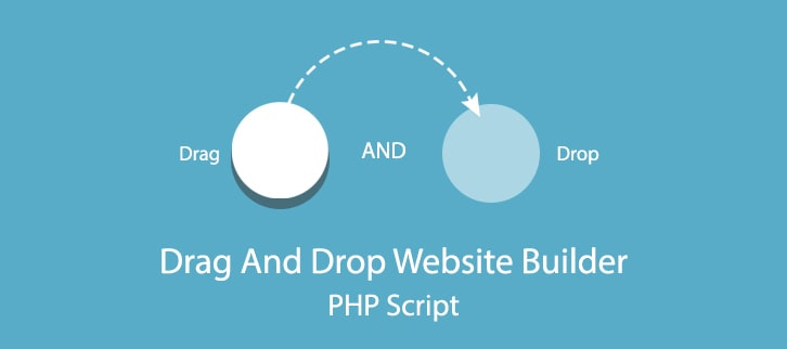 Drag And Drop Website Builder PHP Script